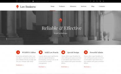 http://Law business.cmsmasters.net/ screenshot