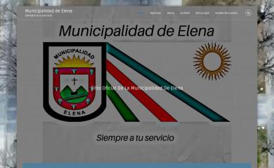 municipalidadelena.gob.ar screenshot