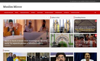 muslimmirror.com screenshot