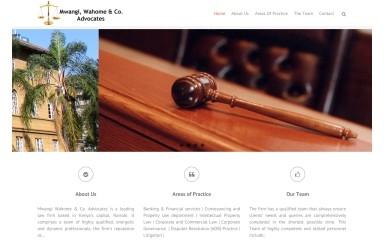mwangiwahome.com screenshot