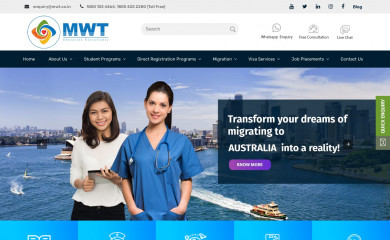 mwt.co.in screenshot