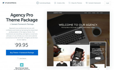 Agency Pro Theme screenshot