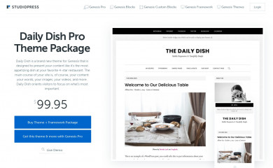 Daily Dish Pro screenshot