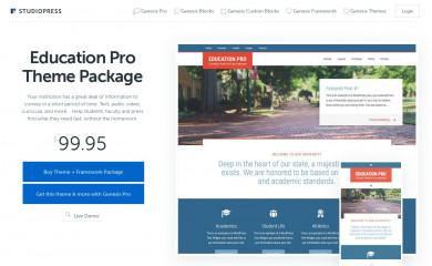 http://my.studiopress.com/themes/education/ screenshot