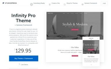 Infinity Pro screenshot