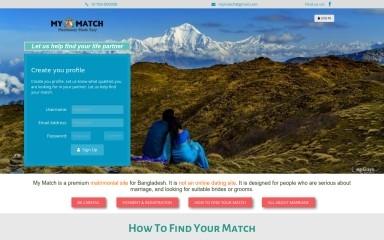 mymatchbd.com screenshot