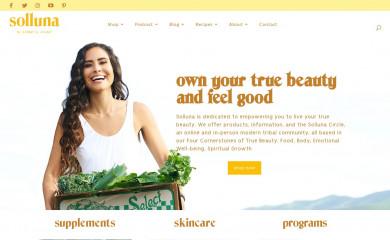 mysolluna.com screenshot