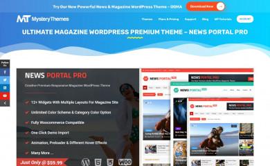 https://mysterythemes.com/wp-themes/news-portal-pro screenshot