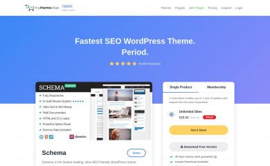 Blogging By MyThemeShop screenshot
