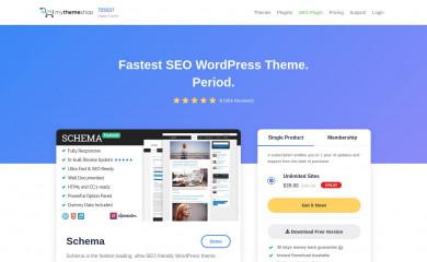 WordX by MyThemeShop screenshot