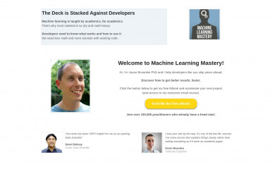machinelearningmastery.com screenshot