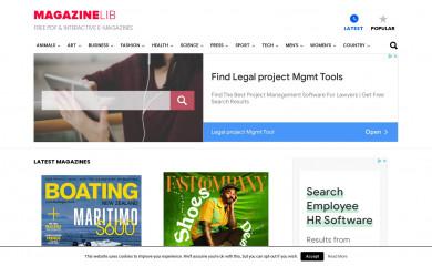 magazinelib.com screenshot