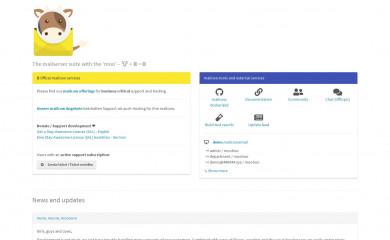 mailcow.email screenshot