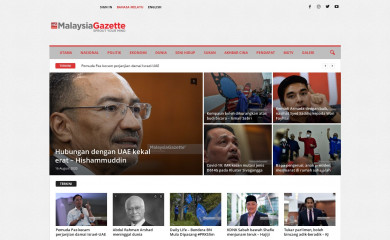 http://malaysiagazette.com screenshot