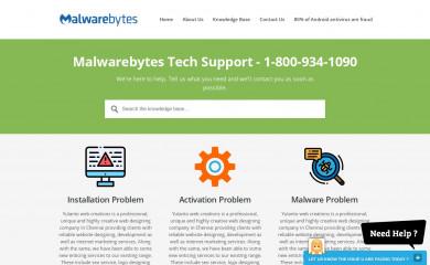 malwaretechsupport.com screenshot