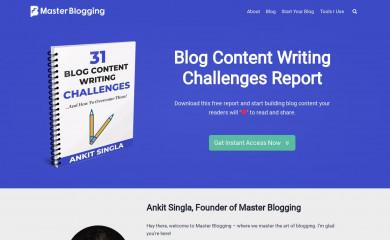 masterblogging.com screenshot