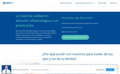 masvistamasvida.org screenshot