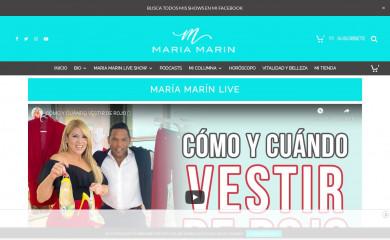 http://mariamarin.com screenshot