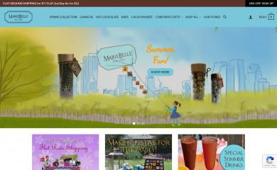 mariebelle.com screenshot