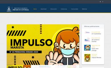 maristas.edu.mx screenshot
