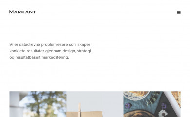 http://markant.no screenshot