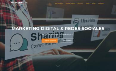 http://marketingenredesociales.com screenshot