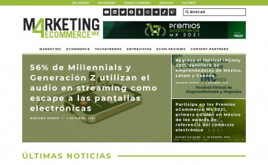 marketing4ecommerce.mx screenshot