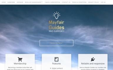 mayfairguides.com screenshot
