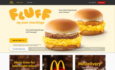 http://mcdonalds.com.sg screenshot
