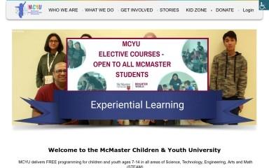 mcyu.ca screenshot