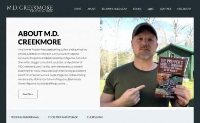 mdcreekmore.com screenshot