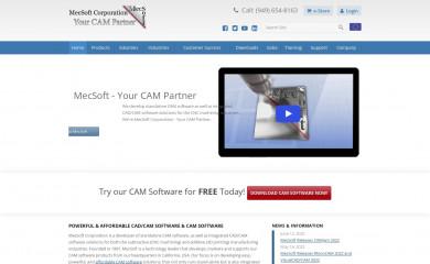mecsoft.com screenshot
