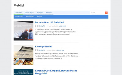 http://mebilgi.com screenshot