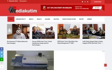 mediakutim.com screenshot