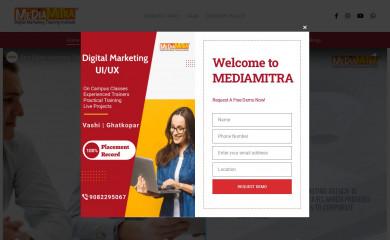 mediamitra.in screenshot
