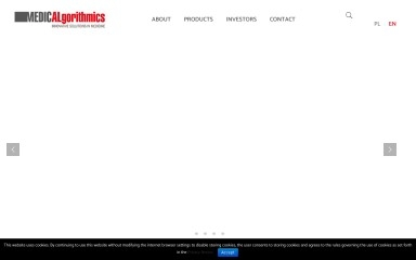 medicalgorithmics.com screenshot