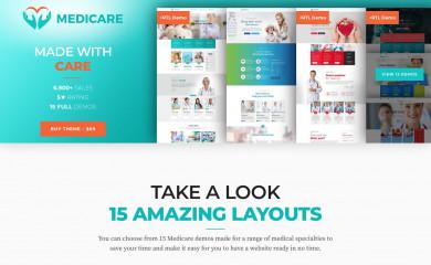 https://medicare.bold-themes.com screenshot