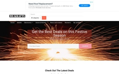 http://mekrafts.com screenshot