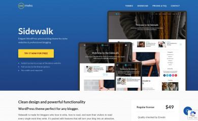 Sidewalk screenshot