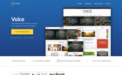 Voice | Shared By Themes24x7.com screenshot