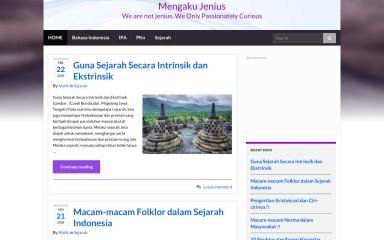mengakujenius.com screenshot