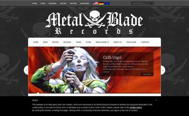 http://metalblade.com screenshot