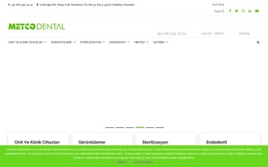 http://metcodental.com screenshot