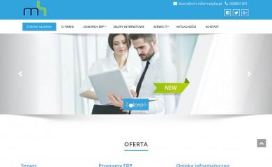 mh-informatyka.pl screenshot