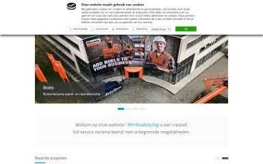 mhroadstyling.nl screenshot