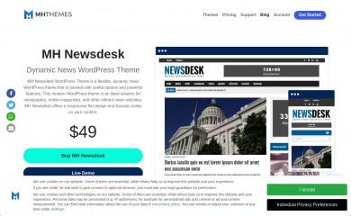 MH Newsdesk screenshot