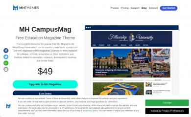 https://www.mhthemes.com/themes/mh/campusmag/ screenshot