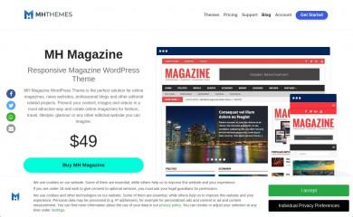 https://www.mhthemes.com/themes/mh/magazine/ screenshot