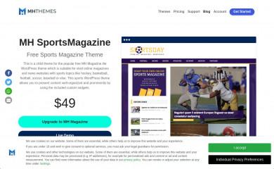 https://www.mhthemes.com/themes/mh/sportsmagazine/ screenshot