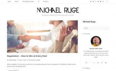 michaelruge.name screenshot